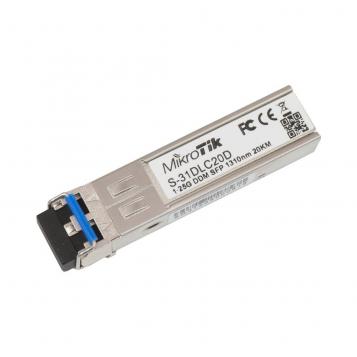 MikroTik RouterBoard 1000BASE-EX SFP Module 1.25G SM 20km 1310nm DDM