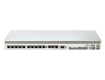 MikroTik RouterBoard Dual Core 2GB RAM RB1100AHX2 (RouterOS L6)