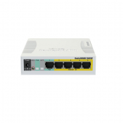 MikroTik RouterBoard 260GSP Network Switch CSS106-1G-4P-1S (UK PSU)