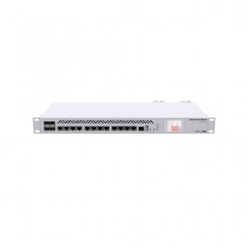MikroTik RouterBoard Cloud Core Router Firewall VPN 8GB RAM 36 Core Dual PSU CCR1036-12G-4S-EM-R2 (RouterOS L6)