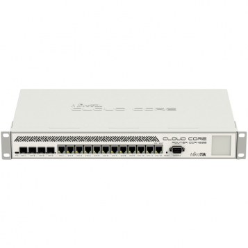 MikroTik Cloud Core Router Firewall VPN 12 x 1Gb Ports 4 x SFP Dual PSU CCR1036-12G-4S-R2 (RouterOS L6)