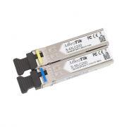 MikroTik RouterBoard Pair of SFP Modules - 1.25G 1310/1550nm 20km