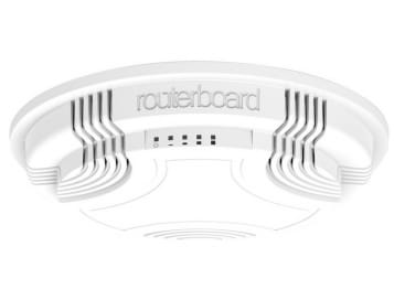 MikroTik RouterBoard cAP-2nD Ceiling AP (RouterOS Level 4) with UK PSU