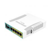 MikroTik RouterBoard hEX PoE 5 Port Gigabit Router RB960PGS (RouterOS L4)