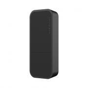 MikroTik RouterBoard wAP ac Black Enclosure - RBwAPG-5HacD2HnD-BE  (RouterOS L4, UK PSU)