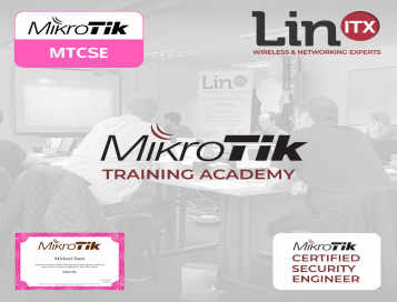 LinITX MikroTik SE0320 MTCSE Training Course at EU MUM Prague - 23rd March - 25th March 2020