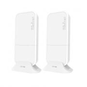 MikroTik Wireless Wire Pre-Configured 60GHz Link - RBwAPG-60ad Kit