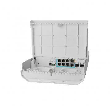 MikroTik netPower Lite 7R - CSS610-1Gi-7R-2S+OUT