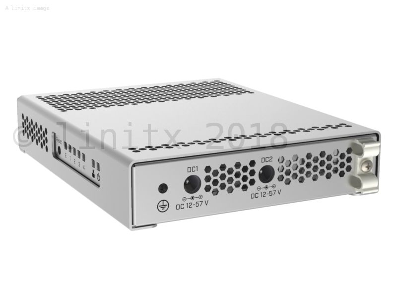 Mikrotik 5 Port Desktop Switch 10 Gigabit Ethernet SFP+