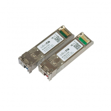 Mikrotik Pair of bidirectional SFP 10G 10km modules (RB/S+23LC10D + RB/S+32LC10D)