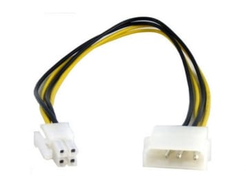 Molex to 4pin 12V plug adapter