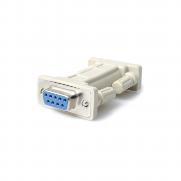 Null Modem Adapter M/F DB9