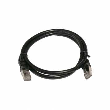 Pro Series Cat7 RJ45 UTP Ethernet Patch Cable 1m Black