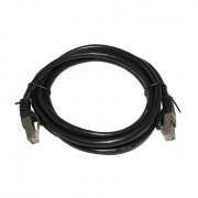 LinITX Pro Series Cat7 RJ45 UTP Ethernet Patch Cable 2m Black