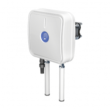 QuWireless IP67 Enclosure With Integrated Directional LTE + Omni-Directional Wi-Fi Antennas for RUT360 - A360M