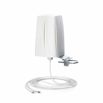 QuWireless Omnidirectional Multiband LTE MIMO 2x2 antenna 10m SMA Cable