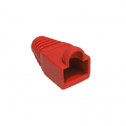 LinITX RJ45 Connector Snagless Boot - Red