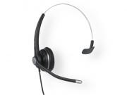 SNOM Wideband Wired Monaural Headset A100M