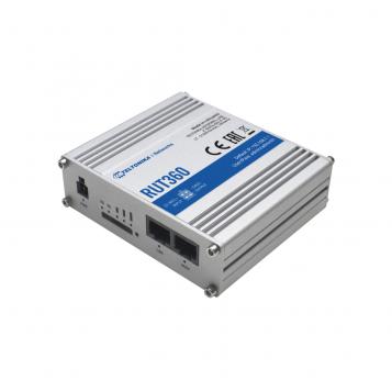 Teltonika CAT6 LTE Industrial Cellular Router - RUT360