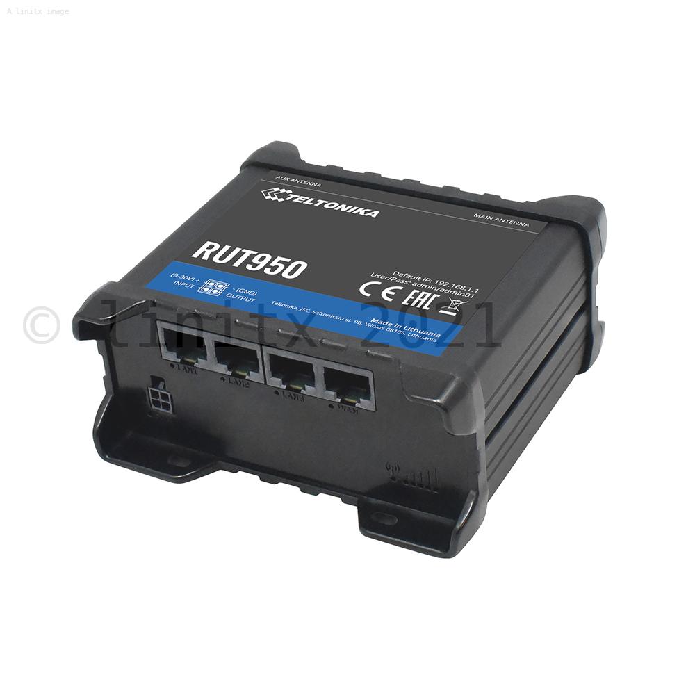 Teltonika RUT950 Dual-Sim LTE Router - REFURBISHED