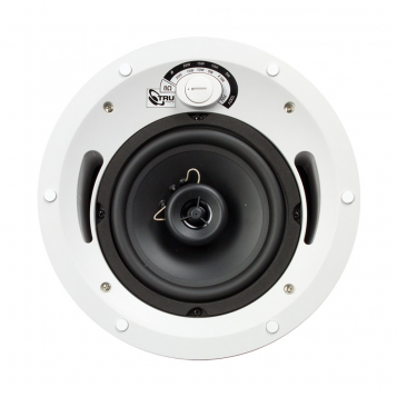 TruAudio 70V/100V 6.5″ 2-Way In-Ceiling Speaker – CL-70V-6UL