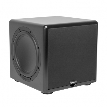 TruAudio Compact 10″ Subwoofer – 250W Amplifier CSUB-10