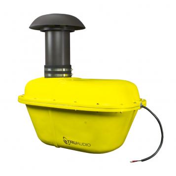 TruAudio SubTerrain Underground 10″ Subwoofer – 200W – ST-SUB-10.2 (Yellow)