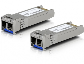 OPEN BOX Ubiquiti Single-Mode Fiber Module 10G - UF-SM-10G (2-Pack)