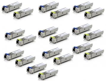Ubiquiti Single-Mode Fiber Module 1G BiDi - UF-SM-1G-S-20 (10-Pairs)