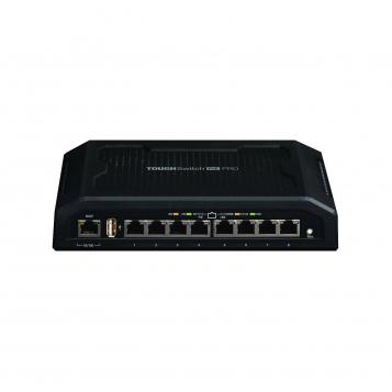Ubiquiti ToughSwitch PRO 8 Port Gigabit Network Switch 24V/48V Passive PoE TS-8-PRO