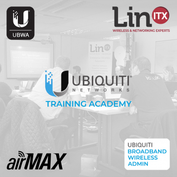 LinITX Ubiquiti UBWA A0620 Broadband Wireless Admin Course - 16th-17th June 2020