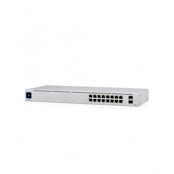 Ubiquiti UniFi 16 Port PoE+ Gen2 Gigabit Network Switch - USW-16-POE