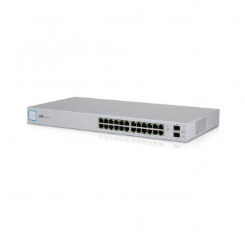 Ubiquiti UniFi 24 Port Gigabit Network Switch US-24 (Non-PoE)