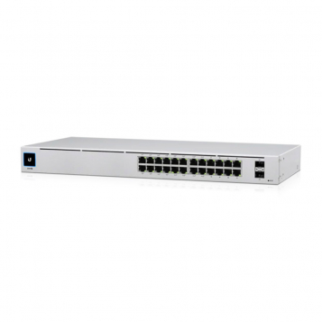 OPEN BOX Ubiquiti UniFi 24 Port PoE+ Gen2 Gigabit Network Switch - USW-24-POE