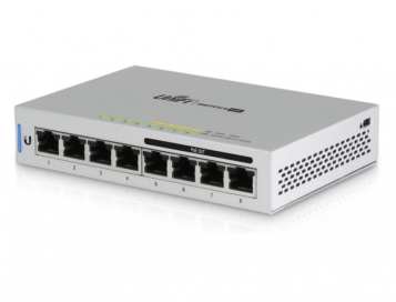 Ubiquiti UniFi 8 Port 60W PoE Switch - US-8-60W