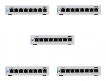 Ubiquiti UniFi 8 Port Switch - US-8 - 5 Singles