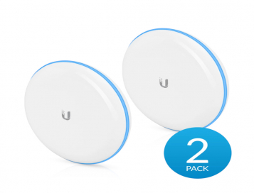 Ubiquiti UniFi Building-to-Building Bridge 60 GHz/5 GHz Wireless Bridge with 1 Gbps+ Throughput - UBB-EU