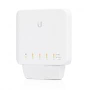 Ubiquiti UniFi Indoor / Outdoor 5 Port Layer 2 Gigabit Switch + PoE Support - USW-Flex