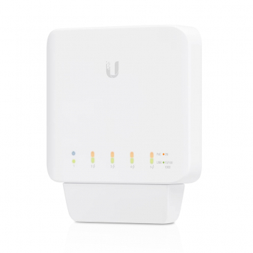 Ubiquiti UniFi Indoor / Outdoor 5 Port Layer 2 Gigabit Switch + PoE Support - USW-Flex