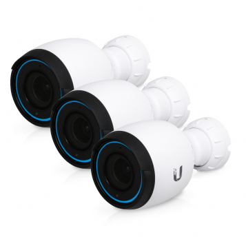 Ubiquiti UniFi Protect 4K IP Video Camera CCTV IP67 Optical Zoom 3 Pack - UVC-G4-PRO-3 (No PoE Injector)