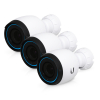 Ubiquiti UniFi Protect 4K IP Video Camera CCTV IP67 Optical Zoom 3 Pack - UVC-G4-PRO-3 (No PoE Injector)