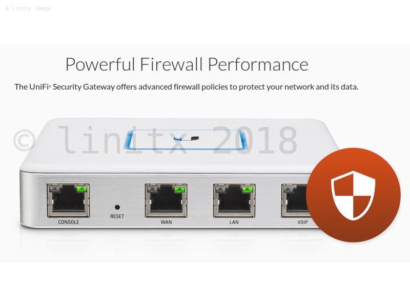 Ubiquiti UniFi Security Gateway VPN Firewall Router USG