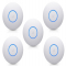 Ubiquiti UniFi UAP AC nanoHD AP/Hotspot - 5 Pack (No PoE Injectors) side of product