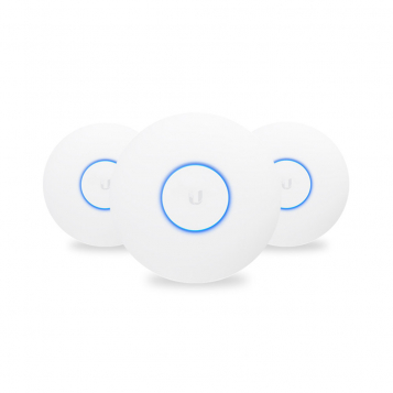Ubiquiti UniFi UAP AC nanoHD Wireless Access Point 3 Pack - UAP-nanoHD-3 (No PoE Injectors)