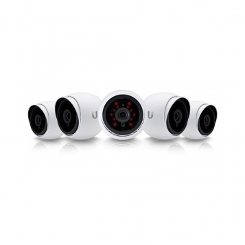 Ubiquiti UniFi Video Camera G3 1080P 802.3af IP UVC-G3-AF-5 5 Pack (No PoE Injectors)