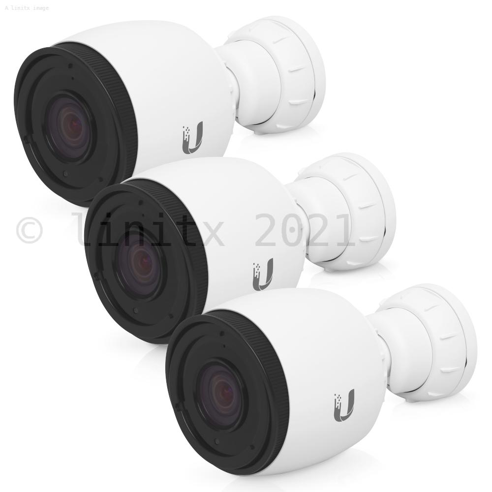 Ubiquiti UniFi Video G3-PRO Camera 3 Pack - UVC-G3-PRO-3 (No PoE Injectors)