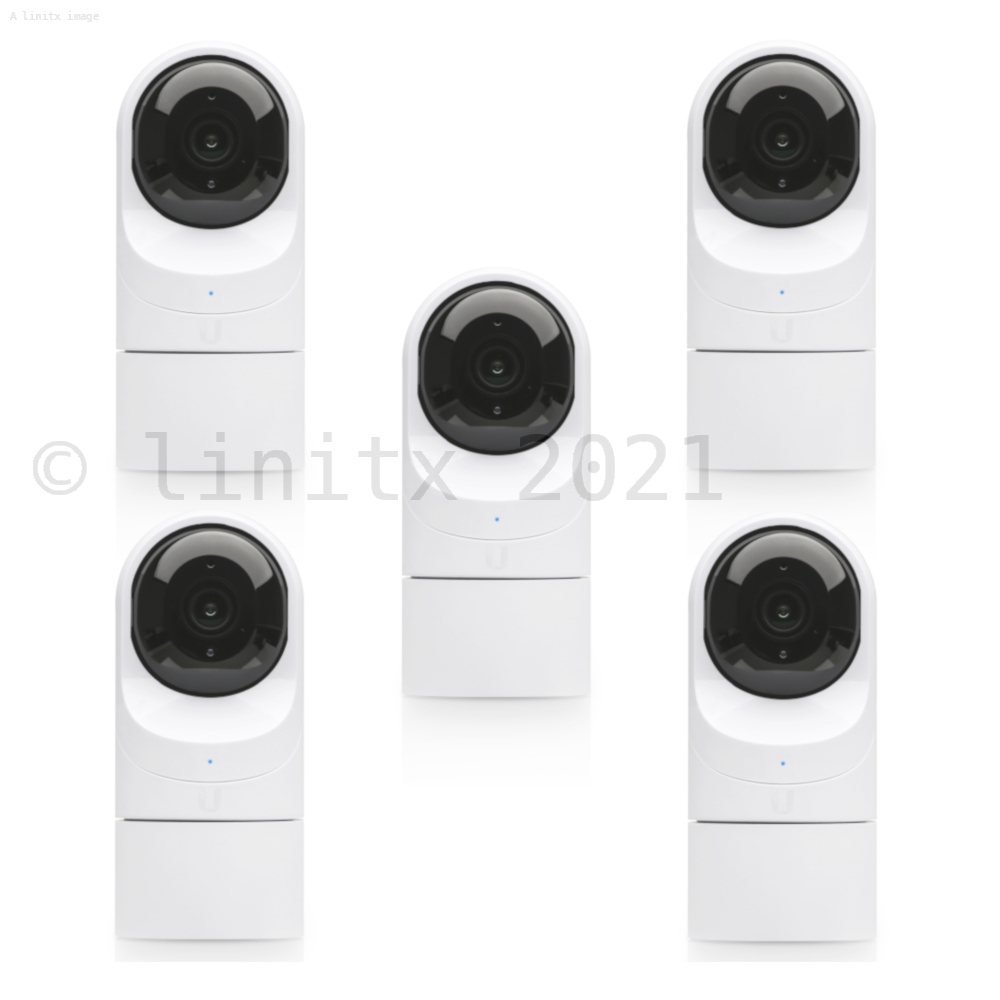 Ubiquiti UniFi Video IP Camera 1080p CCTV G3 Flex 5 Pack