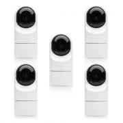 Ubiquiti UniFi Video IP Camera 1080p CCTV G3 Flex 5 Pack - UVC-G3-FLEX-5 (No PoE Injectors)