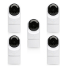 Ubiquiti UniFi Video IP Camera 1080p CCTV G3 Flex 5 Pack - UVC-G3-FLEX-5 (No PoE Injectors)