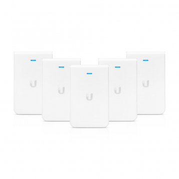 Ubiquiti Unifi AC In-Wall AP Wireless Access Point 5 Pack UAP-AC-IW-5 (No PoE Injector)